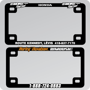 MOTORCYCLE - 3D PLATE FRAME